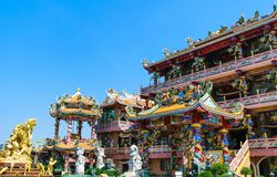 Joss house. In Thailand stock image