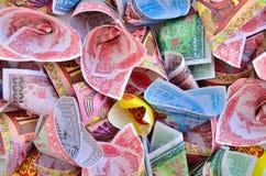 Joss Paper Chinese Fotografía de archivo libre de regalías