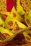 Joss Paper Chinese Tradition pour disparus des spiritueux du ` s d'ancêtre photo stock