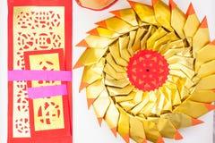 Joss-Papier an Hand Stockbilder