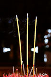 The joss stick Royalty Free Stock Photo