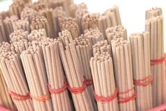 The joss stick. In the basket at the temple Royalty Free Stock Image