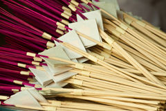 Joss stick. In the temple Stock Images