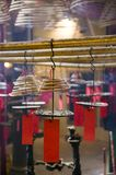 Joss Stick in Buddhist Temple Royalty Free Stock Images