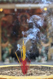 Joss stick incense Royalty Free Stock Photo