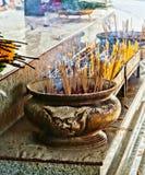 Joss stick pot Stock Photos