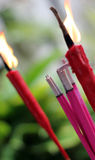 Joss sticks Royalty Free Stock Photography
