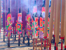 Joss Sticks. Chinese new year joss sticks Stock Photography