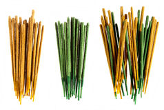 Incense sticks aromatherapy groups Stock Photography