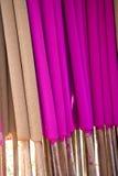 Joss Sticks Making Stock Photo