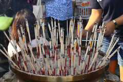 Joss sticks Stock Image
