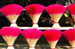 Joss sticks in Vietnam stock photography