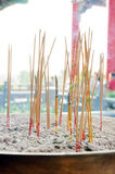 Joss sticks. At Wat Leng-Noei-Yi, Thailand Royalty Free Stock Photos