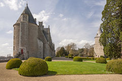 Josselin Castle stockbild