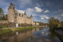 Josselin Castle Stockfotografie
