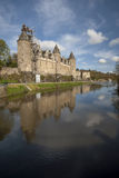 Josselin Castle Stockbilder