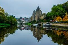 Josselin Castle - Chateau DE Josselin royalty-vrije stock foto