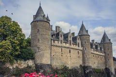 Josselin Castle, Morbihan, france fotos de stock royalty free