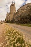 Josselin do castelo Fotos de Stock