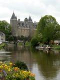 Josselin Schloss stockfotos