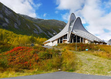 Jostedalen, Glacier Visitor Centre, Breheimsenteret, Norway Royalty Free Stock Photo