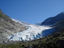 Jostedalsbreen glacier Norway Royalty Free Stock Images