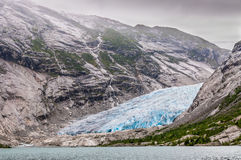 Jostedalsbreen glacier in Norway Royalty Free Stock Photo