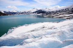 Jostedalsbreen lake Royalty Free Stock Image