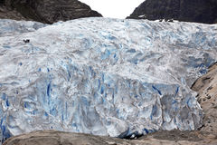 Jostedalsbreen National Park. Royalty Free Stock Photo