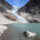 Jostedalsbreen National Park Royalty Free Stock Photo
