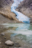 jostedalsbreen park narodowy Obraz Royalty Free