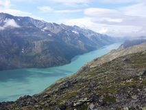 Jotunheimen, Νορβηγία στοκ φωτογραφία με δικαίωμα ελεύθερης χρήσης