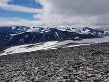 Jotunheimen-Berggebiet stockfotos