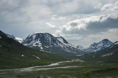 jotunheimen bergskedja Royaltyfria Foton