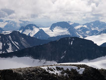 Jotunheimen de Galdhopiggen Mt., Noruega Fotos de Stock