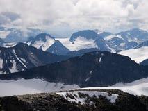 Jotunheimen from Galdhopiggen Mt., Norway Stock Photos
