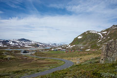 Jotunheimen landscape Stock Photography