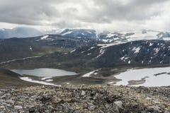 Jotunheimen Nationaal Park, Noorwegen Royalty-vrije Stock Afbeeldingen