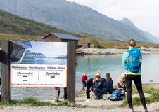 Jotunheimen National Park ferry service Stock Images