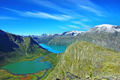 Jotunheimen Nationalpark Stockbild