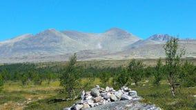Jotunheimen Noorwegen Royalty-vrije Stock Afbeeldingen