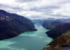 Jotunheimen, Noruega Fotografia de Stock Royalty Free