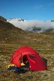 jotunheimen parkowego Norway krajowego namiot Obraz Royalty Free