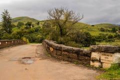 Joubert Bridge fora do resto do ` s do peregrino em África do Sul Imagens de Stock Royalty Free