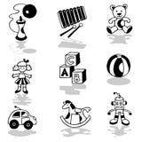 Joue des graphismes Photo stock
