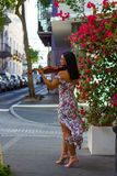 Jouer à vieux San Juan Images stock