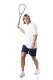 jouer au squash Photo libre de droits