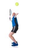 jouer au tennis Photos libres de droits