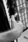 Jouer d'accordéon Image stock