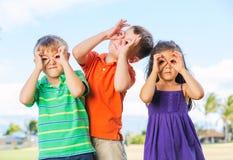 Jouer d'enfants Photo libre de droits